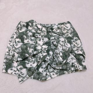 アチャチュムムチャチャ(AHCAHCUM.muchacha)のあちゃちゅむ 顔 スカート(ミニスカート)