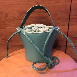 Drawer - アヤコ pottery bag emeraldgreen
