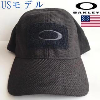 オークリー(Oakley)のレア【新品】OAKLEY USA キャップ 帽子 ブラック X/XL(キャップ)