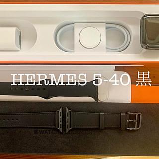 Hermes - 新品 Apple watch HERMES 5-40ブラック