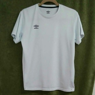 アンブロ(UMBRO)のumbroアンブロ Tシャツ 白 メンズM レディースL相当(Tシャツ/カットソー(半袖/袖なし))