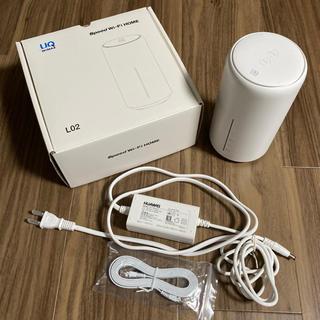 UQ WiMAX Speed Wi-Fi HOME L02(その他)