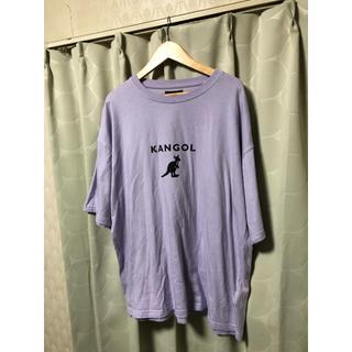 カンゴール(KANGOL)の古着 KANGOL カンゴール  ビッグサイズ 半袖 ロゴ Tシャツ(Tシャツ/カットソー(半袖/袖なし))