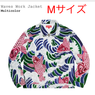 Supreme - Mサイズ WAVES work jacket