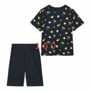 ジーユー(GU)の160 ポケモン GU  コラボ KIDS(男女兼用)ラウンジセット(半袖)(パジャマ)