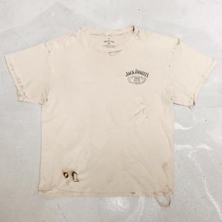 FEAR OF GOD - Jack Daniels Vintage Trashed T-Shirt