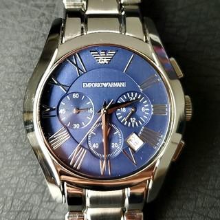エンポリオ・アルマーニ「バレンテ」 AR1635 メンズ腕時計 クロノグラフ