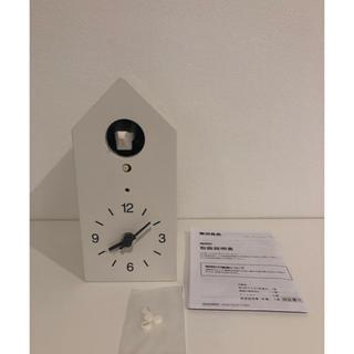 MUJI (無印良品) - 無印良品 美品鳩時計 壁掛け時計
