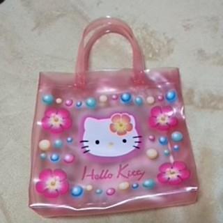 ハローキティ - ビニール製ハローキティのバッグです