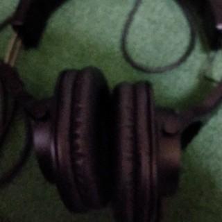 オーディオテクニカ(audio-technica)のヘドホォーン(ヘッドフォン/イヤフォン)