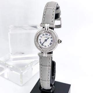 Cartier - 【仕上済/ベルト2色】カルティエ コリゼ シルバー ダイヤ レディース 腕時計