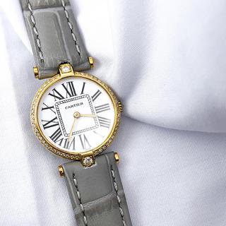 Cartier - 【OH済】カルティエ ヴァンドーム オパラン ダイヤ レディース 腕時計
