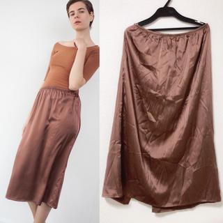 エディットフォールル(EDIT.FOR LULU)の未macoron様使用 baserange skirt レア2017ss ワンピ(ひざ丈スカート)