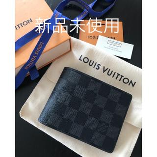 LOUIS VUITTON - ★新品★ルイヴィトン 折り財布 メンズ ダミエグラフィット ミュルティプル