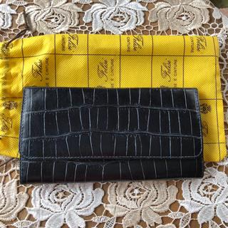 Felisi - フェリージクロコ型押し長財布