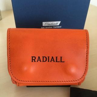 ラディアル(RADIALL)の新品 RADIALL ラディアル 財布 本革 三つ折り財布 コンパクト ミニ財布(折り財布)