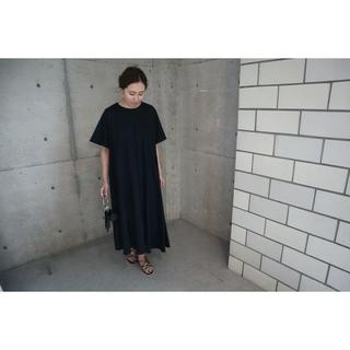 L'Appartement DEUXIEME CLASSE -  ella 今季新品asymmetry hem dress (navy)
