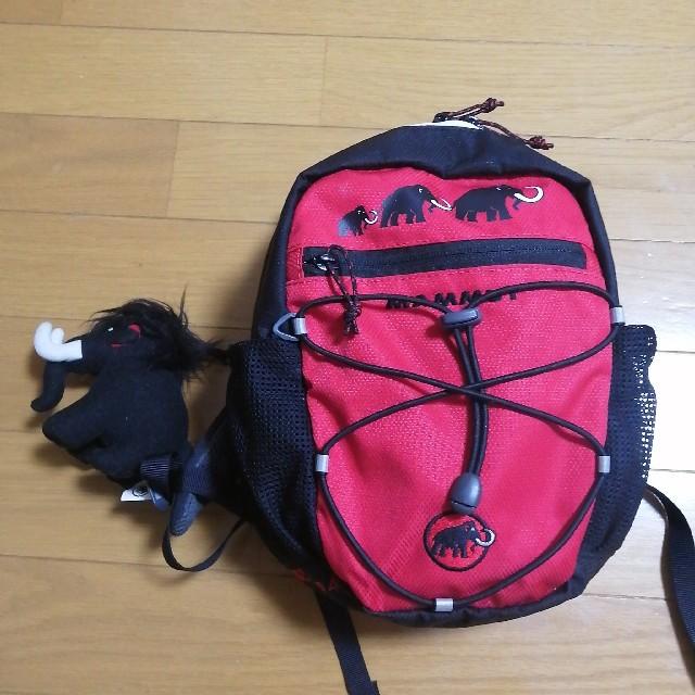 Mammut(マムート)の【マムート】キッズリュック(4L) キッズ/ベビー/マタニティのこども用バッグ(リュックサック)の商品写真
