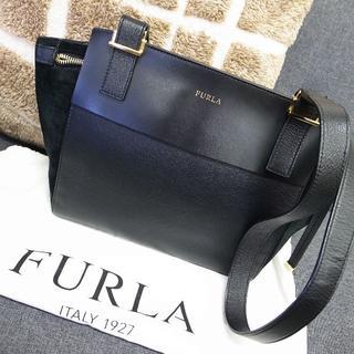 Furla - 正規品☆フルラ ショルダーバッグ 黒 レザー バッグ 財布 小物