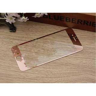 iPhoneSE第2世代 ローズゴールド 液晶強化ガラス(モバイルケース/カバー)
