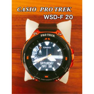 カシオ(CASIO)のPROTREK  smart   WSD-F20  CASIO(腕時計(デジタル))