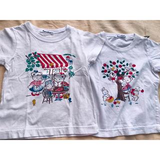ファミリア(familiar)のファミリア Tシャツ 2枚 サイズ100(Tシャツ/カットソー)