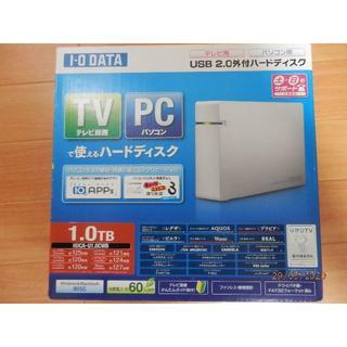 アイオーデータ(IODATA)のIODATA USB2.0外付けハードディスク 1.0TB(PC周辺機器)
