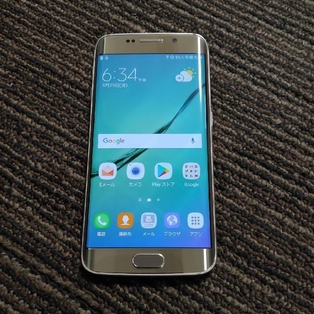 SAMSUNG(サムスン)のGalaxy  s6  edge  (404sc)  SoftBank スマホ/家電/カメラのスマートフォン/携帯電話(スマートフォン本体)の商品写真
