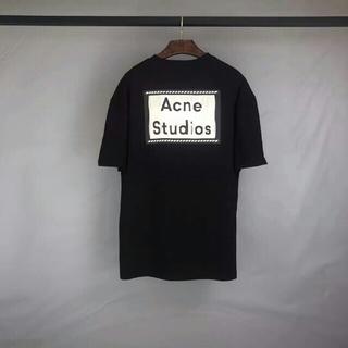 ACNE - Acne studios 黑 ビッグシルエット Tシャツ XS 新品