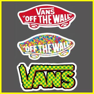 ヴァンズ(VANS)の土日、祭日も発送可能です  ポイント処分などには最適!!(ステッカー)