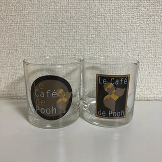 クマノプーサン(くまのプーさん)のプーさん ガラス ペアコップ 2つ(グラス/カップ)