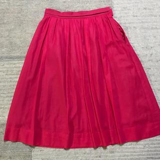 ノーリーズ(NOLLEY'S)のノーリーズ☆ピンクスカート(ひざ丈スカート)