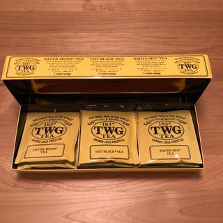 TWG  紅茶 コットンティーバッグ (茶)