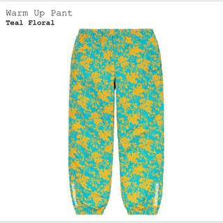シュプリーム(Supreme)のSupreme Warm Up Pant teal floral S(その他)