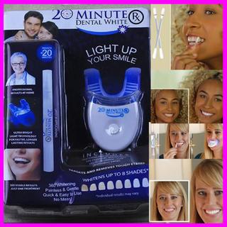 海外MINUTE 歯のホワイトニングキット ライト&ジェルペンオールセット(その他)