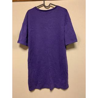 ザラ(ZARA)のzara パープルビックTシャツ(Tシャツ(半袖/袖なし))