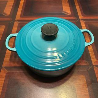 ルクルーゼ(LE CREUSET)のル・クルーゼ☆ココットロンド 18センチ(鍋/フライパン)
