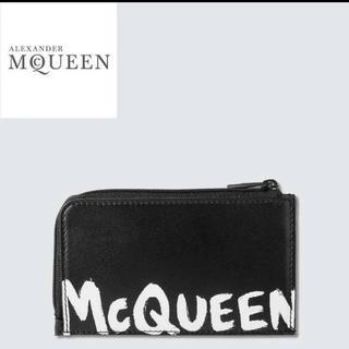 アレキサンダーマックイーン(Alexander McQueen)のALEXANDER MCQUEEN ラージ ジップ コインポーチ(コインケース/小銭入れ)