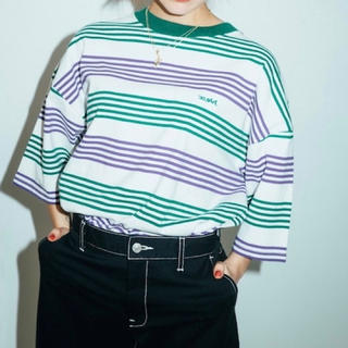 X-girl - x-girl STRIPED H/S TEE