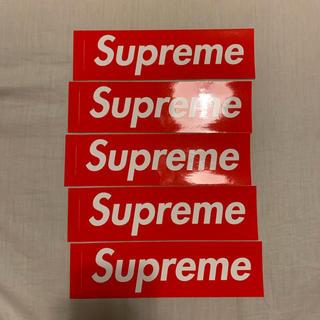 シュプリーム(Supreme)のSupreme ステッカー 5枚 box logo シュプリーム(その他)