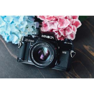 コニカミノルタ(KONICA MINOLTA)の完動品‼️MINOLTA X-700 明るいレンズ付き❗️フィルムカメラ(フィルムカメラ)