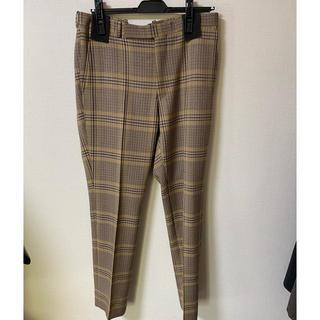 COMOLI - auralee wool serge check narrow slacks