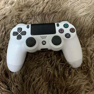 プレイステーション4(PlayStation4)のps4 コントローラー 白(その他)