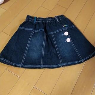 シマムラ(しまむら)のデニムスカート120(スカート)