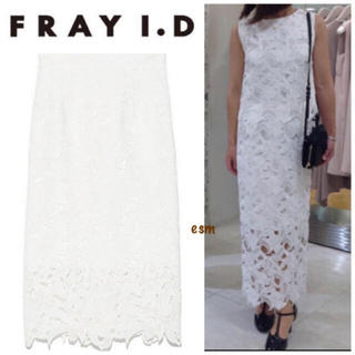 FRAY I.D - FRAY i.D☆フレイアイディー☆ケミカルレースタイトスカート