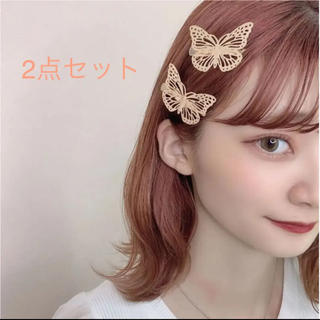 dholic - 2点セット☺︎完売商品☺︎ 蝶々 バタフライ ヘアピンオルチャン
