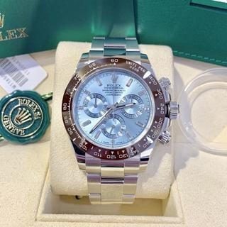 OMEGA - デイトナ プラチナ アイスブルー 腕時計