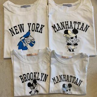 ディズニー(Disney)のディズニー親子お揃いTシャツ(Tシャツ/カットソー)