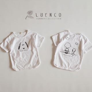 LUENCO Tシャツ 韓国子供服 新品 SNOOPY キッズ