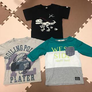 エムピーエス(MPS)のTシャツ 110 3枚セット mps(Tシャツ/カットソー)
